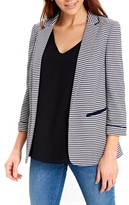 Wallis Women's Ribbed Stripe Ponte Knit Jacket