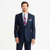 Crosby Suit Jacket In Heathered Italian Wool Flannel
