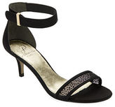 Adrianna Papell Avril Leather Open Toe Sandals