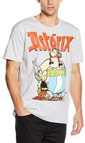 Logoshirt Men's Asterix & Obelix Short Sleeve T-shirt,Small