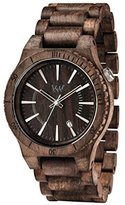 WeWood WASSUNTCHOC Unisex Assunt Choco Rough Bracelet Band Chocolate Watch