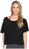 Lucy Dream On Short Sleeve Top Women's Short Sleeve Pullover
