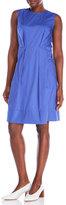 Marni Sleeveless Pleated Pocket Dress