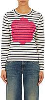 Comme des Garcons Women's Floral & Striped Sweater