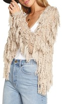 Amuse Society Women's Chelsea Fringe Sweater