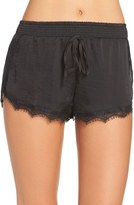 Band of Gypsies Women's Lace Trim Shorts