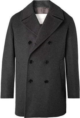 MACKINTOSH Double-Breasted Wool And Cashmere-Blend Peacoat