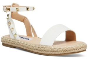 Steve Madden Women's Ultimate Rock Stud Espadrille Sandals