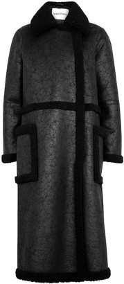 Stand Studio Adriana faux shearling coat