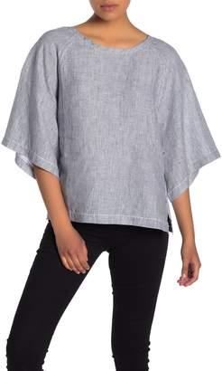 Fifteen-Twenty Quarter Sleeve Linen Top
