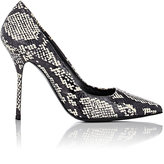Pierre Hardy WOMEN'S SNAKESKIN POINTED-TOE PUMPS