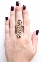 Low Luv x Erin Wasson by Erin Wasson Carved Aztec Ring in Gold