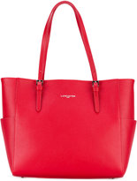 Lancaster lateral pockets shopping bag - women - Leather/Polyurethane - One Size