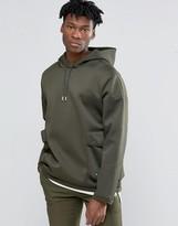 adidas Badlander Pull Over Hoodie In Green AY8524