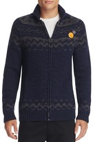 Scotch & Soda Fair Isle Zip Cardigan Sweater