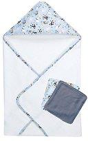 Trend Lab 3 Piece Bath Bundle Box Set, Baby Barnyard by