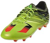 adidas Soccer Cleats Size 3.5 - Messi 15.1 J, Slime/Red/Black