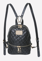Bebe Quilted Mini Backpack