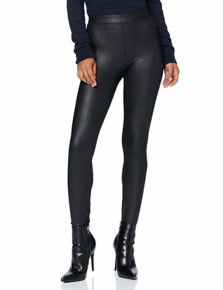Pieces Women's PCNEW Shiny MW Slit Leggings CP