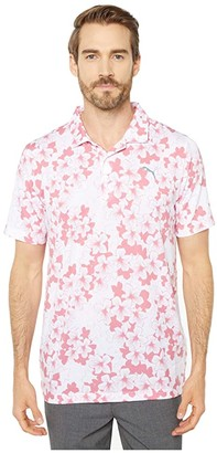 Puma Thirteen Polo (Rapture Rose) Men's Clothing