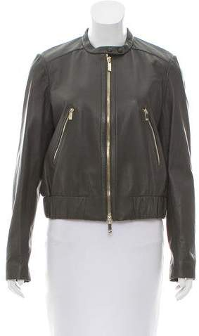 Diane von Furstenberg Buckley Leather Jacket w/ Tags