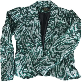 Gina Green Glitter Jacket for Women