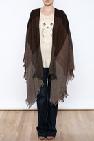 Eileen Fisher Brown Wrap
