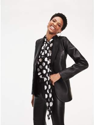 Tommy Hilfiger Zendaya Leather Tailored Blazer