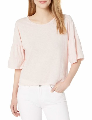 Velvet by Graham & Spencer Women's Ellis Tiered Sleeve Tee