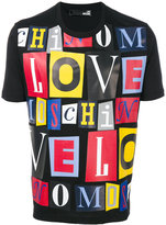 Love Moschino printed T-shirt - men - Cotton - S