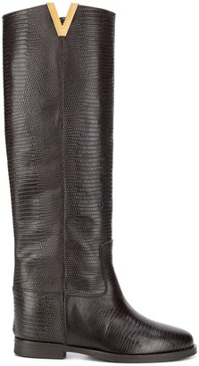 Via Roma 15 Knee Length Boots
