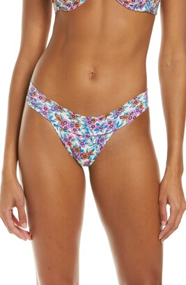 Frankie's Bikinis Nick Floral Bikini Bottoms