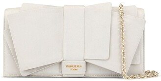 Paule Ka Big Bow Deco Clutch Bag