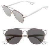 Christian Dior Women's 'Technos' 57Mm Sunglasses - Black