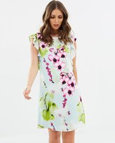 Wallis Summer Orchid Shift Dress