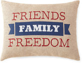 JCP HOME JCPenney HomeTM Americana Friends Family FreedomPillow