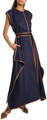 Stella McCartney Eloise Wool Flannel Dress