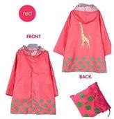 Zhuhaixmy Cute Boy Girls Waterproof Rain Coat Baby Raincoat Kids Rainwear Hooded