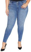 Rebel Wilson Super Skinny Jeans with Star Detail
