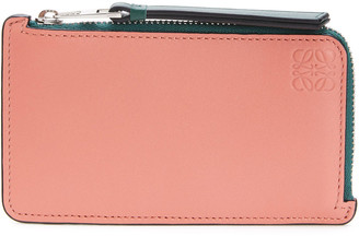 Loewe Multicolor Leather Coin Card Holder