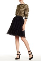 English Factory Pleated Tulle Skirt