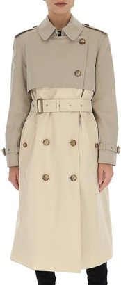 Burberry Reconstructed Two-Tone Trench Coat