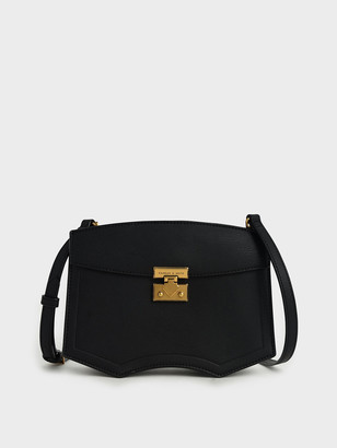 Charles & Keith Sculptural Crossbody Bag