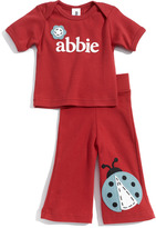 Two Tinas Personalized Tee & Pants Set (Baby)