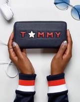 Tommy Hilfiger Star Logo Zip Around Purse
