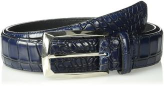 Stacy Adams Men's Ozzie Croc Embossed Belt