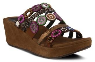 Azura Claretha Wedge Sandal