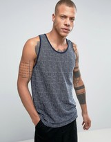 Bellfield Tank In Jacquard Pattern