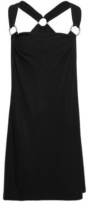 Just Cavalli Ring-embellished Knitted Mini Dress