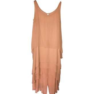 Karl Lagerfeld Paris Pour H&M Pour H&m Pink Silk Dress for Women
